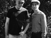Herald Nix and Ronnie Hayward in Salmon Arm.