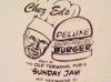 Chez Ed's Smorgasbord Burger
